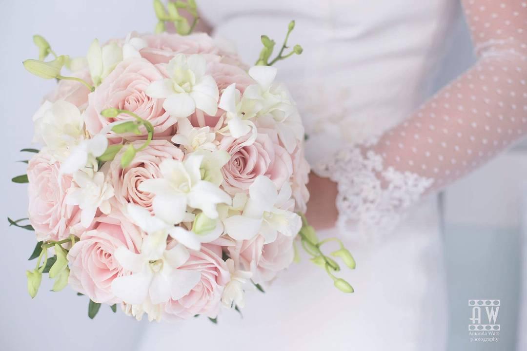 El ramo de novia de Elisabeth