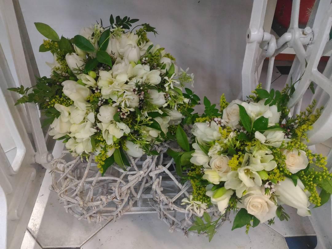 Ramo de novia de María Victoria