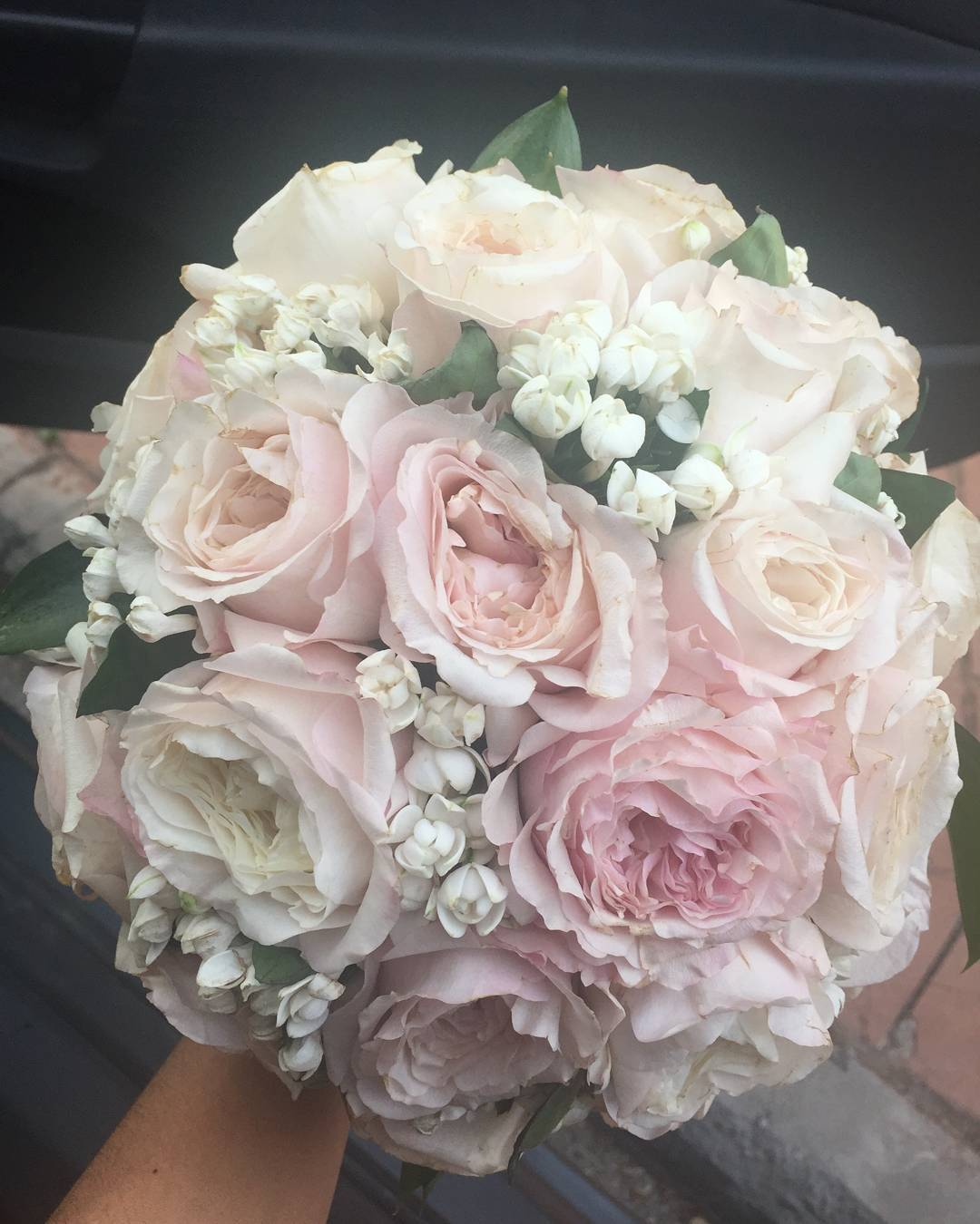 El ramo de novia de Myriam