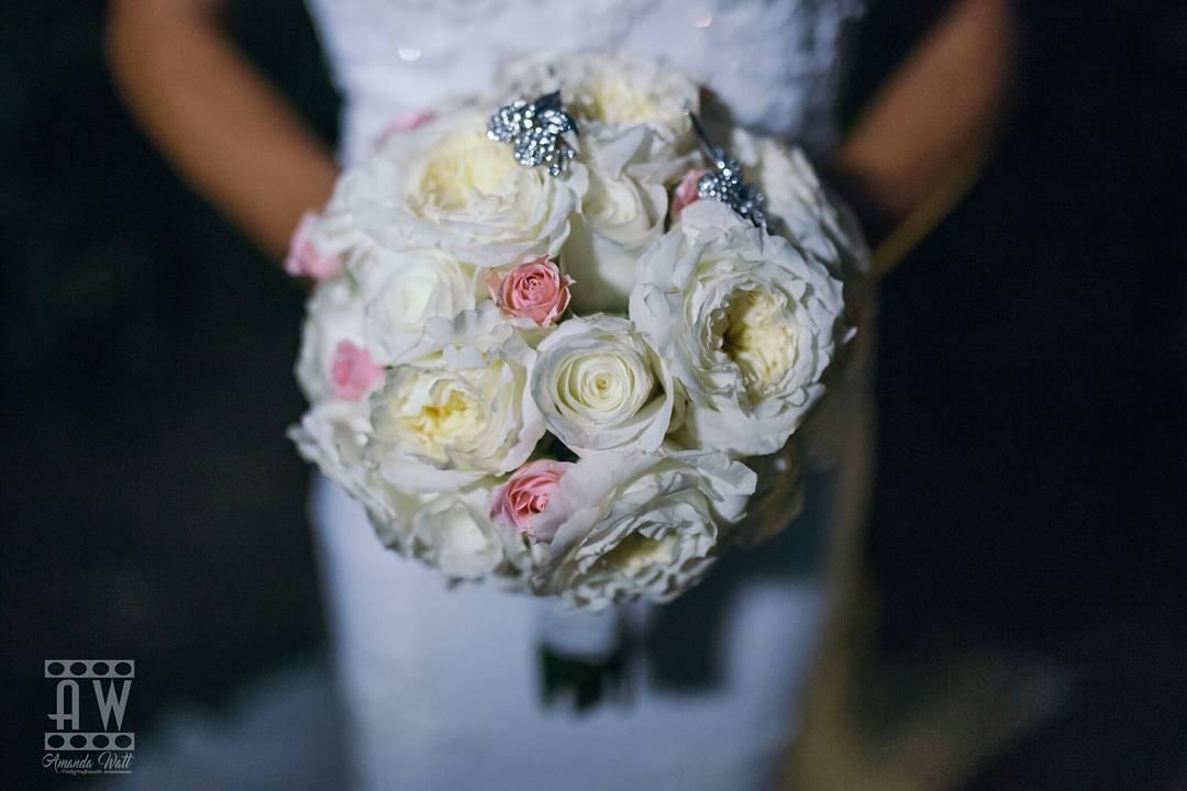 El ramo de novia de Nuria