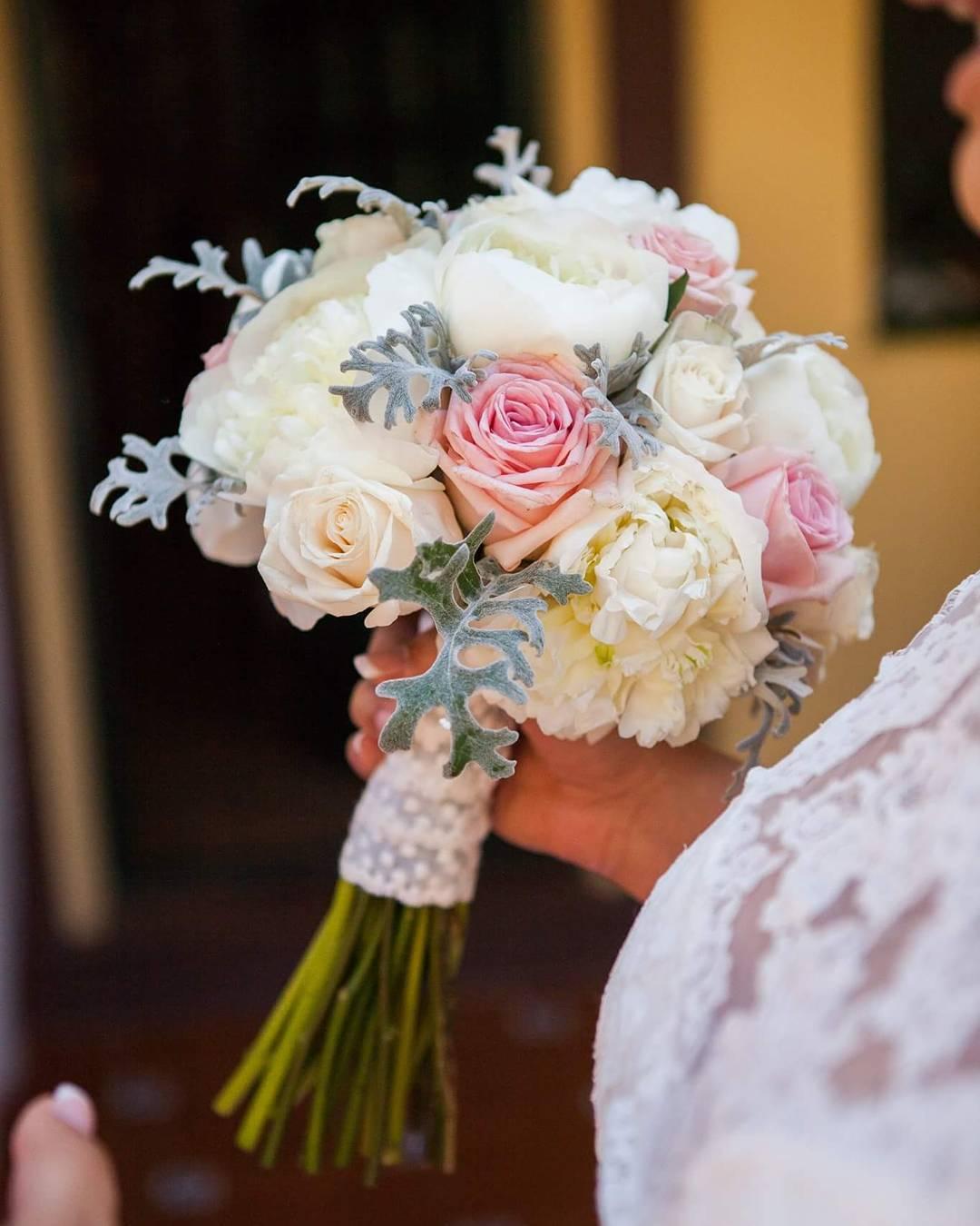 El ramo de novia de Natalia