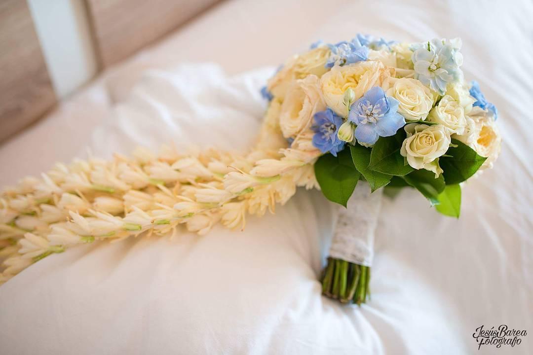 El ramo de novia de Raquel