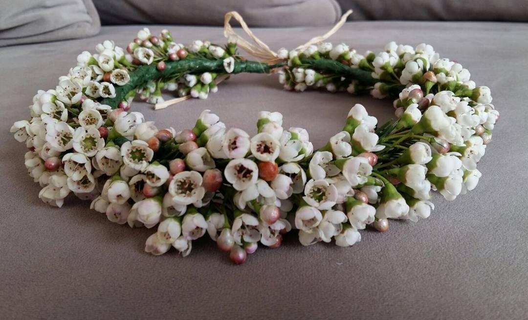 Coronita de flor natural